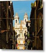 Rome, Italy. View Along Via Dei Metal Print