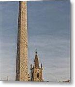 Rome Piazza Del Popolo 01 Metal Print