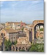 Rome Roman Forum 01 Metal Print