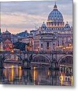 Rome Saint Peters Basilica 01 Metal Print