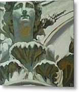 Rome Statue Metal Print