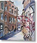 Rome Street Scene IIi Metal Print