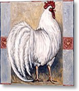 Romeo The Rooster Metal Print
