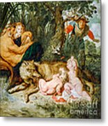 Romulus And Remus Metal Print