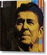 Ronald Reagan Metal Print by Corporate Art Task Force