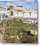 Ronda Old City In Spain Metal Print