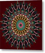 Ronnie Mandala Metal Print