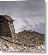 Roof Detail End Of An Era Metal Print