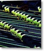 Roof Grounded Metal Print