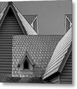 Roof Lines Metal Print