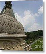 Roof Of Biltmore Estate Metal Print