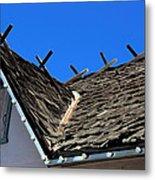 Roof Shingle Metal Print