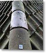 Roof Tops 5 Metal Print