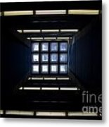 Roof Window Metal Print