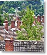 Rooftop Communication Metal Print
