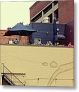 Rooftop Lunch Metal Print
