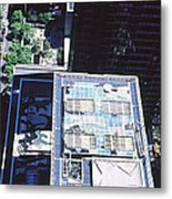 Rooftop Of Museum Of Modern Art Metal Print