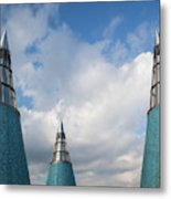 Rooftop Towers At Museum Of Technology Metal Print
