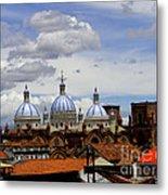 Rooftops Of Cuenca Metal Print