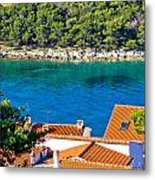Rooftops Sea And Stone Islands Metal Print