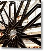 Rookery Building Iron Design Metal Print