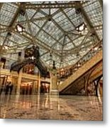 Rookery Building Main Lobby And Atrium Metal Print