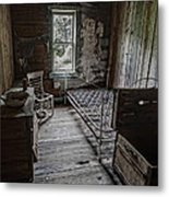 Room At The Wells Hotel - Montana Metal Print