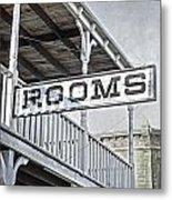 Rooms Metal Print
