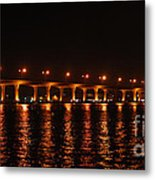 Roosevelt Bridge Panorama Metal Print