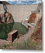 Roosevelt Dam Metal Print