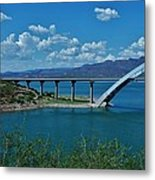Roosevelt Lake 3 - Arizona Metal Print