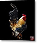 Rooster - 4602 - Bb Metal Print