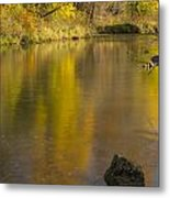 Root River Autumn 2 Metal Print