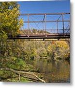 Root River Autumn 3 Metal Print