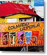 Roots Of La Perla At Old San Juan Metal Print by Sandra Pena de Ortiz