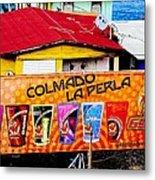 Roots Of La Perla At Old San Juan Metal Print