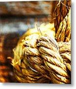 #rope Metal Print