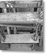 Rope Ladder Metal Print