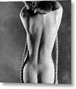Rope Swing Metal Print