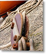 Ropes And Chains Metal Print