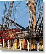Ropes And Ramp  Metal Print
