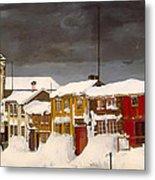 Roros In Winter - Norway Metal Print