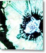 Rosa Sinensis Abstract Metal Print