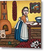 Rosas Kitchen Metal Print