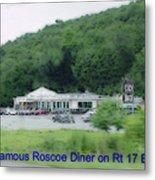Roscoe Ny Diner Metal Print