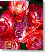 Rose 124 Metal Print by Pamela Cooper