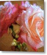 Rose 166 Metal Print