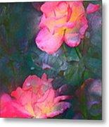 Rose 194 Metal Print by Pamela Cooper