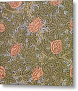 Rose 93 Wallpaper Design Metal Print by William Morris