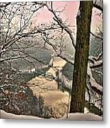 Rose Colored Morning Metal Print